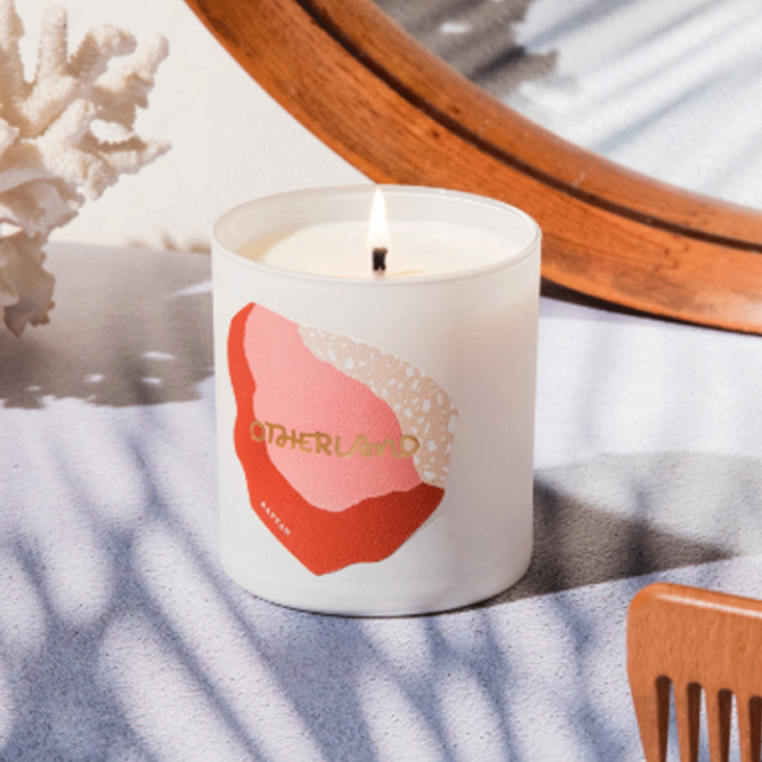 rattan otherland candle