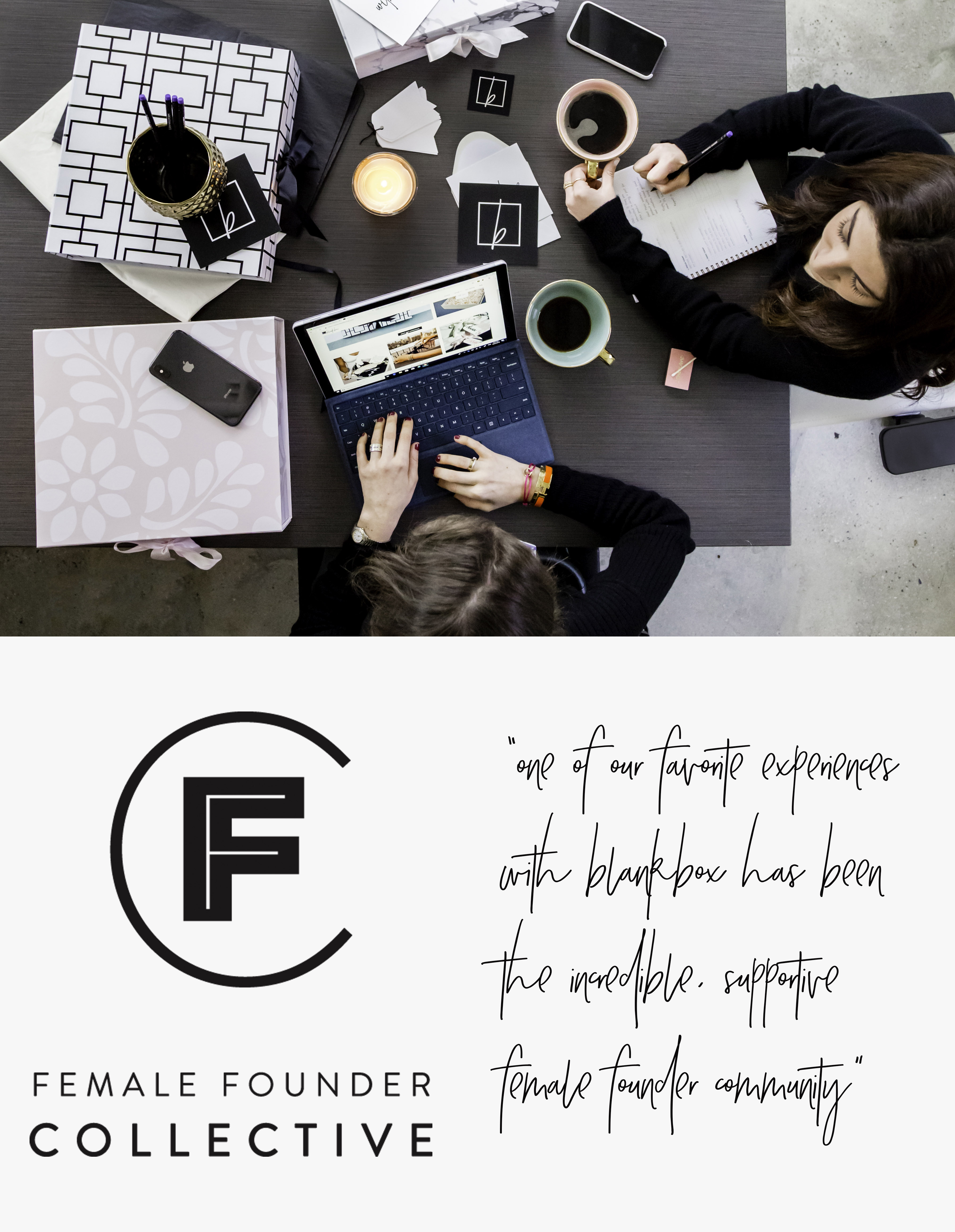 the fill – team blankbox first full year in business female founder collective