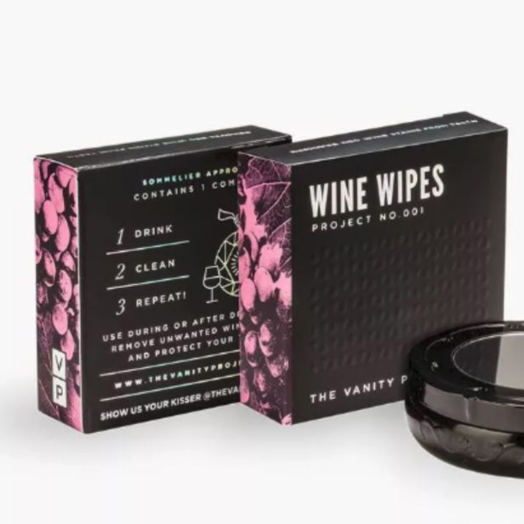 vanity project wine wipes